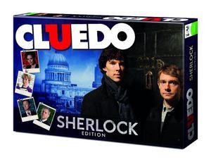 Cluedo Sherlock Edition - Gesellschaftsspiel Brettspiel Holmes Spiel