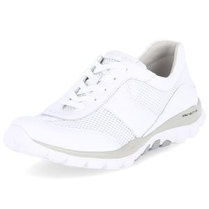 Gabor Damen Sneaker Sneaker Low Lederkombination weiss 40