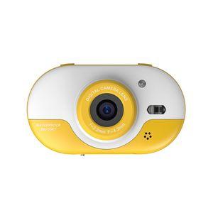 8MP Kinder Digitalkamera Kinder Wasserdichte Kamera mit Doppelkameras vorne und hinten 2,4-Zoll-IPS-HD-Bildschirm Ein-Klick-Foto / Video-Selbstauslöser für 5 Sekunden