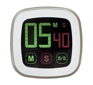 Küchentimer Timer Kurzzeitmesser Eieruhr mit Magnet und Touchscreen digital NEU