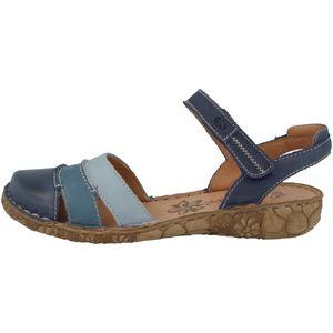 Josef Seibel 79544-727 Rosalie 44 Damen Sandalen Slingsandalen Leder, Größe:38 EU, Farbe:Blau