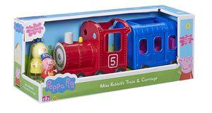Eisenbahn   Spielset   Peppa Wutz   Peppa Pig   mit Figur Peppa & Frau Mümmel