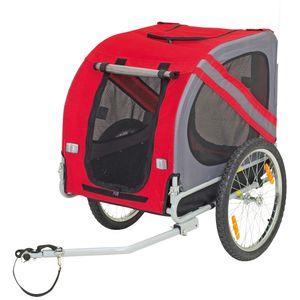 Schecker Pet Traveler Fahrradanhänger 125 x 95x 72 cm Hundeanhänger für Hunde bis 40 kg