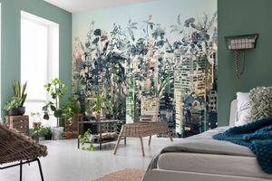 """Komar Fototapete """"Urban Jungle"""", bunt, 368 x 254 cm"""