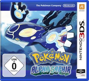 Pokemon Alpha Saphir - 3DS