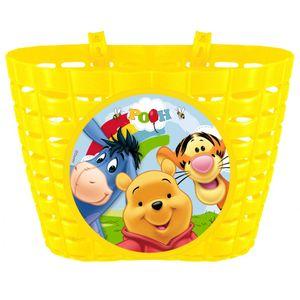 Winnie Pooh Fahrradkorb/ Lenkertasche für Kinderfahrräder, -roller oder -scooter