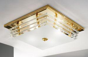 Kolarz Deckenleuchte Ontario 24 Karat Gold Handarbeit, Italy