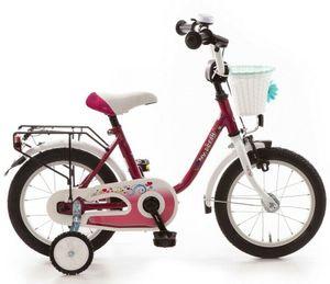 Kinderfahrrad 14 Zoll Fahrrad ab 3 Kinder Mädchen Kinderrad Mädchenfahrrad Lila