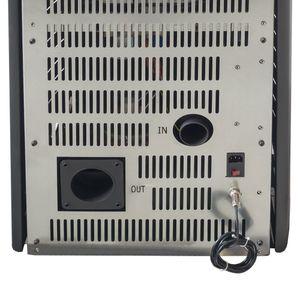 Nemaxx P9 Pelletofen Pelletkamin Pelletkaminofen 9 kW Kaminofen Heizofen Pellet Ofen Kamin Pelletheizung Heizung Heizgerät Kaminheizung Pellets - Rot - WiFi-Ready