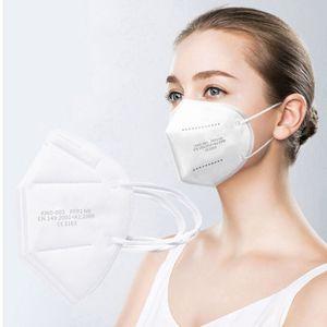 1000 Stück FFP2-Maske  CE 2163- 5-lagige Hochschutzmaske Einwegmaske Anti-Pollen, Anti-Staub, Anti-Allergie, Anti-Infektion