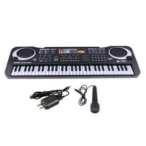Keyboard Piano 61 Key Portable Keyboard Multifunktionales Keyboard Piano Geschenk