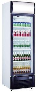SARO Getränkekühlschrank mit Werbetafel Modell GTK 382