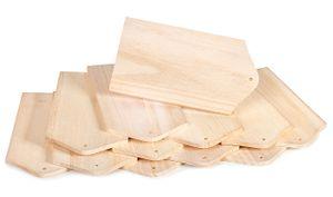 12 Frühstücksbretter Holzbrettchen Küchenbrett Brot VBS Großhandelspackung