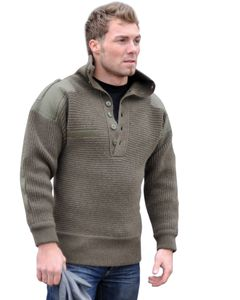 Mil-Tec OESTERR.ALPIN PULLOVER WOLLE OLIV 52