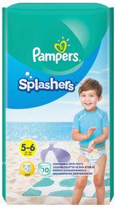 Pampers Schwimmwindeln Splashers Größe 5 - 6 Tragepack 10 Stück