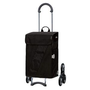 Andersen Shopper Scala Treppensteiger und 46 Liter Tasche Vika schwarz mit Kühlfach