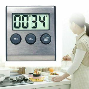 Miixia Kurzzeitmesser Timer Küchenwecker Stoppuhr Eieruhr Digital Küchentimer