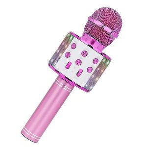 Lustiges Spielzeug fš¹r 3-12-j?hrige M?dchen, Mikrofon fš¹r Kinder Karaoke-Mikrofon rosa
