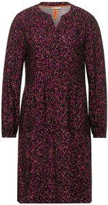 Street One Print Dress Split Ne 32768 phlox pink 44