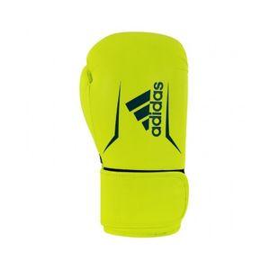 adidas Speed 100 (kick)Boxhandschuhe gelb / blau 10 oz