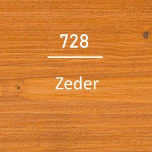 OSMO Holzschutz-Öl Lasurfarbe 728 Zeder 0,75L