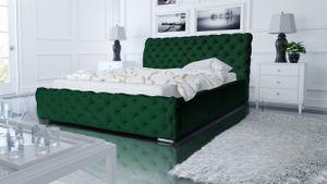 Polsterbett Bett Doppelbett ALDO 200x200cm inkl.Bettkasten