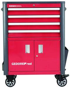 GEDORE GEDORE red Werkstattwagen WINGMAN 4 Schubladen 1034x724x470 mm, R20200004