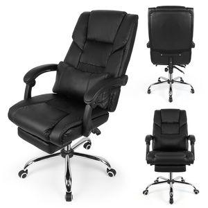 Racing Bürostuhl Gaming Drehstuhl Chefsessel Turbo Stoff 150kg Belastbar Stuhl A