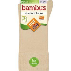 Nur Die  Damen Bambus Komfort Socke Fb.615 leinen Gr.39/42