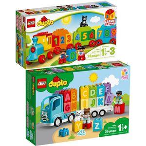 LEGO? 10847 10915 DUPLO? 2er Set Zahlenzug + Mein