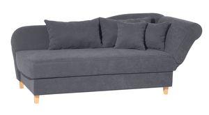Max Winzer Selma Recamiere mit Armteil rechts klappbar - Farbe: anthrazit - Maße: 190 / 212 cm x 88 cm x 82 cm; 2917-6320-2051714-F01