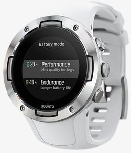 SUUNTO 5 GPS-Uhr kompakte Sport-Uhr mit langer Batterielaufzeit Weiß