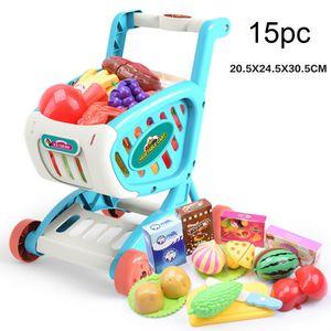 Einkaufswagen Obst Gemüse Gemüse Rollenspiel Kinder Kind Lernspielzeug Geschenk