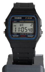 Casio Collection F-91W-1YER Herrenuhr Chronograph