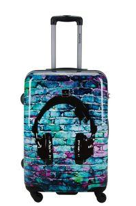 Reisekoffer Hartschale Trolley Koffer by viaccio Saxoline Gr.M Headphone