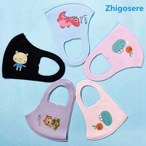 5 Stück Schwammmaske Für Kinder, Antibeschlagmaske, wiederverwendbare Maske, atmungsaktive Sonnenschutzmaske