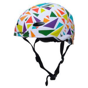 "Apollo Skate-Helm/Fahrradhelm - ""Triangle"" Größe S/M verstellbar (48-55 cm)"