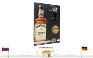 "Jack Daniels ""ORIGINAL RECIPE"" Tennessee HONEY 0,35L alc. 35% vol. + LONGDRINKGLAS"