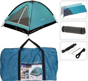 Redcliffs Camping-Set blau/schwarz 120 x 200 x 100 cm 1 Set