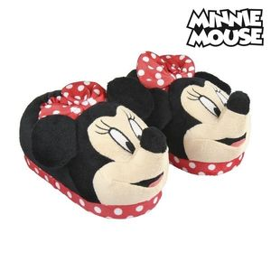 Hausschuhe 3D Pantoffeln Mädchen Kuschelhausschuhe Minnie Mouse Fußgröße 29-30