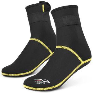 Tauchsocken 3mm Neopren Strand Wassersocken Thermo Neoprenanzug Stiefel Rutschfeste Tauchsocken zum Rafting Schnorcheln Segeln Schwimmen
