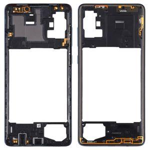 Mittelrahmen für Samsung Galaxy A71 A715F Schwarz Middle Frame Rahmen Gehäuse Zubehör Ersatzteil