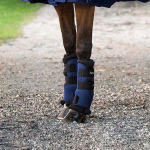 Back on Track Stallgamaschen Royal - Paar - Blau, Größe:L