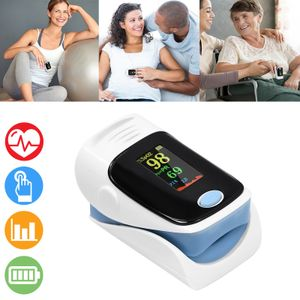 LARS360 Finger Oximeter Pulsoxymeter Pulsoximeter SPO2 LED Puls LED Monitor Messgerät Blut-Sauerstoff