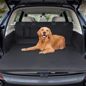 Universeller Kofferraumschutz, Hundekofferabdeckung wasserdichte Kofferraumhundedecke Autoschutzabdeckung 2 in 1, Seitenschutz, für PKW, LKW, Transporter und SUV (180x103 cm)