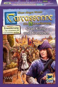 Hans im Glück Carcassonne, Graf, König und Konsorten, Erweiterung 6