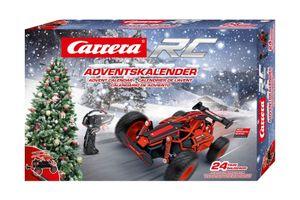 Carrera 370160135 RC Adventskalender mit 2,4GHz RC Fahrzeug