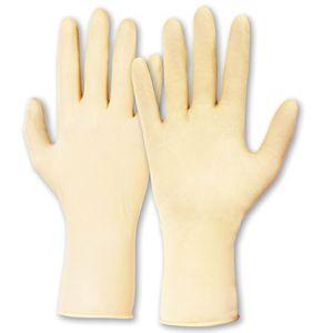 50 Paar KCL Naturlatex Handschuhe Nr. 651 Gr L Handschuh Untersuchungshandschuhe