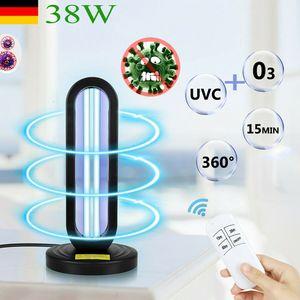 Melario 38W UVC Lampe Licht Ultraviolet Desinfektion UV Ozon Desinfektion Lampe