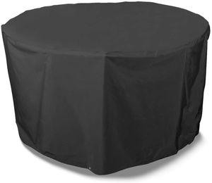 CYE Storm Black runde Schutzhlle fr 6- bis 8-Personen Sitzgruppe
